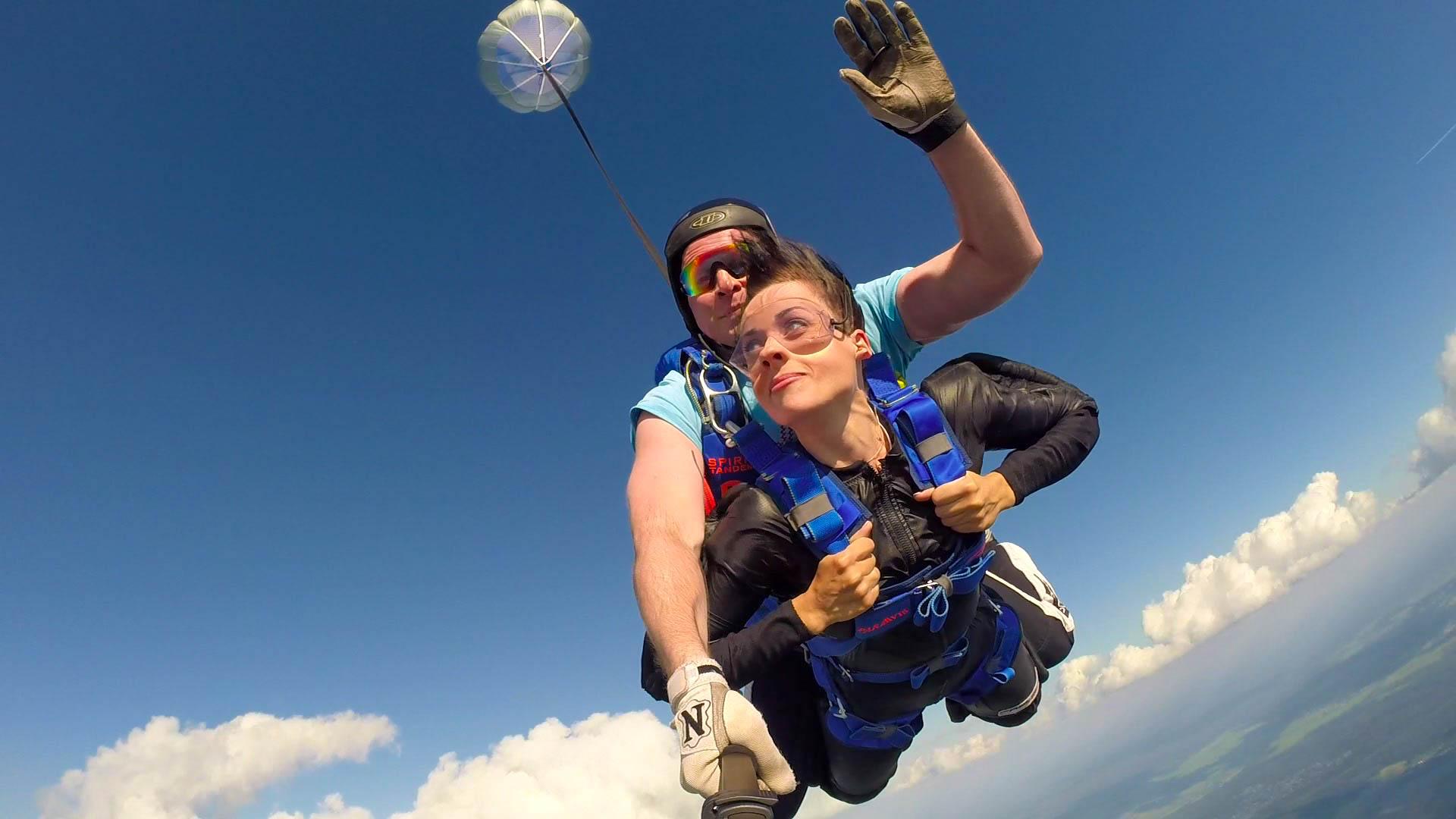Тандем-Прыжок с высоты 2500-3000 метров