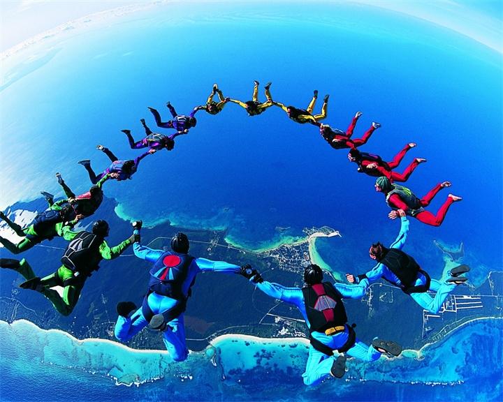 Виды парашютного спорта