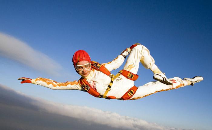 Из истории парашютного спорта