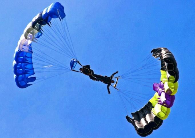 Разновидности парашютного спорта