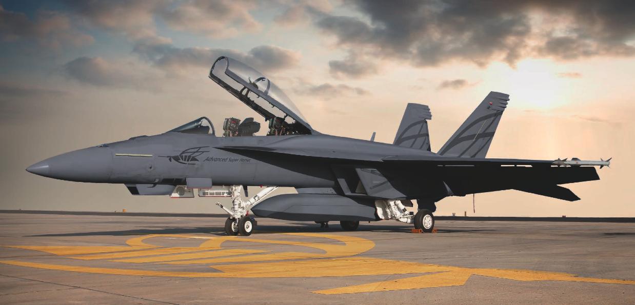 Многоцелевой истребитель Super Hornet