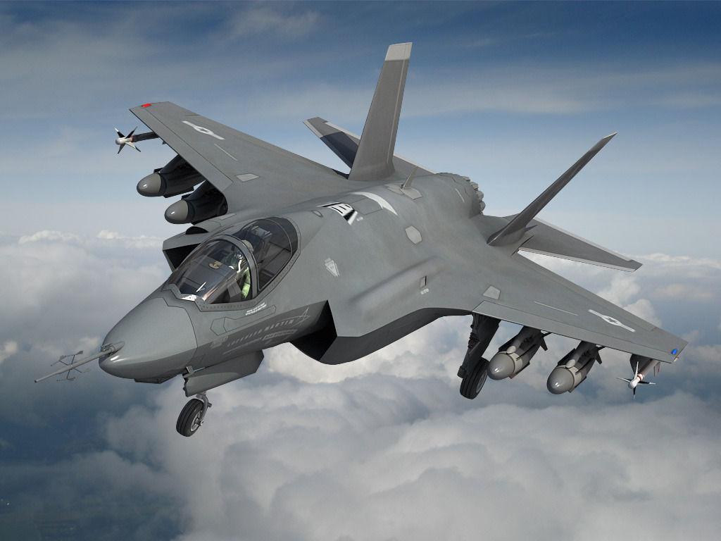 Полеты на F-35 Lightning II
