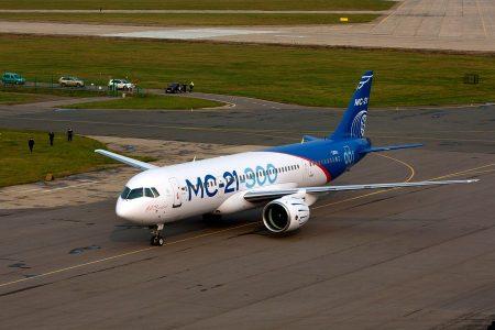 MC-21-300 перелетел из Иркутска в Жуковский