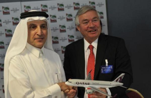 Авиакомпания Qatar Airways разместила заказ на 55 самолетов Airbus